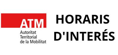 Horaris ATM Lleida