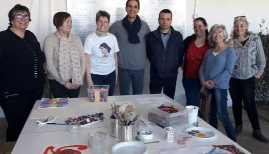 """Cloenda del """"Taller d'habilitats personals i professionals, l'arteràpia i la pintura"""" a Sant Ramon"""