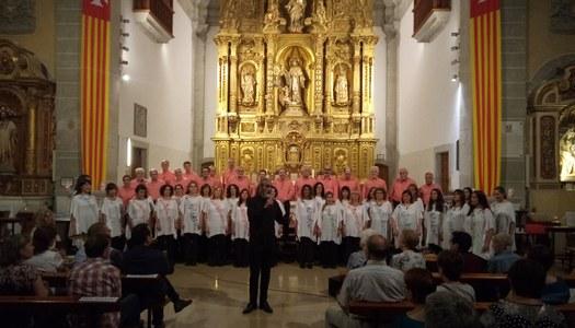 Concert de la Coral Finisterra de Buenos Aires a Sant Ramon