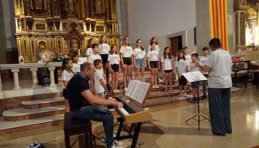 Concert del Cor Verdaguer de Ponts, a Sant Ramon