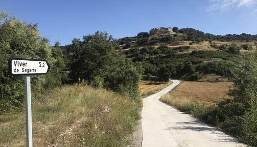 Finalitza el perfeccionament dels camins de Mont-ros