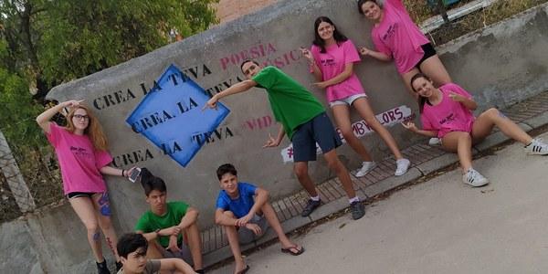 Imatge dels joves participants