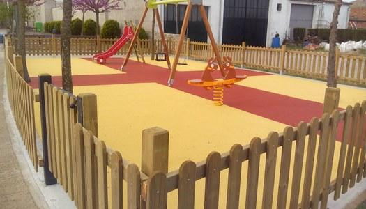 Finalitzades les obres de construcció del parc infantil al Passeig Sant Jordi de Sant Ramon.