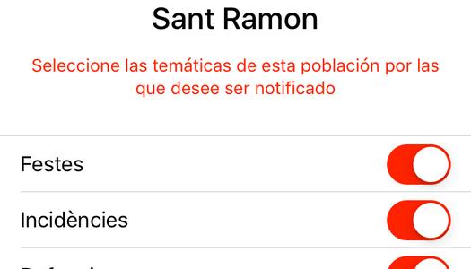 L'Ajuntament de Sant Ramon renova la web de l'Ajuntament.