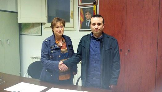 L'Ajuntament de Sant Ramon signa el conveni de col•laboració amb l'Associació de Dones Vent Seré.