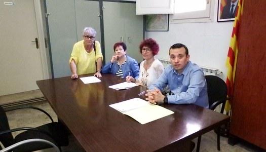 L'Ajuntament de Sant Ramon signa el conveni de col•laboració amb la Coral de Sant Ramon.