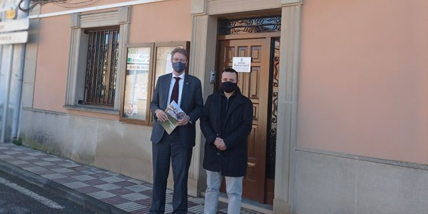 Visita institucional del Diputat Ferran Bel.
