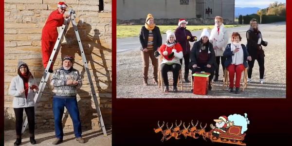 """La Coral de Sant Ramon realitza un vídeo desitjant """"Bones Festes"""""""