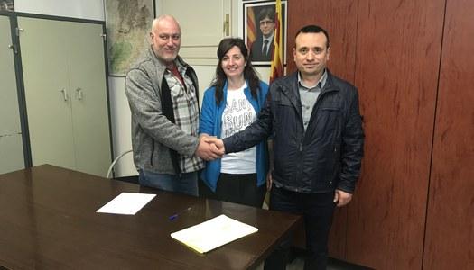 L'Ajuntament de Sant Ramon segueix actualitzant els convenis de les associacions municipals.