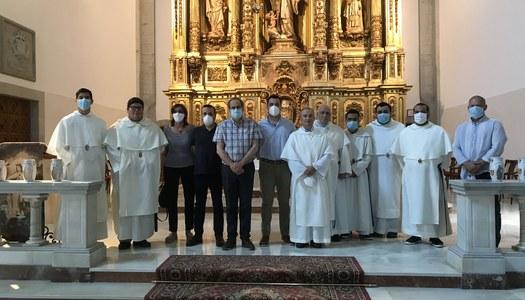 Quim Torra visita el Santuari de Sant Ramon Nonat