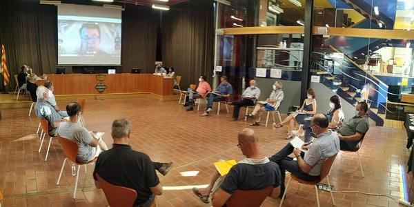 Consell d'alcaldes de la Segarra. Juliol 2020