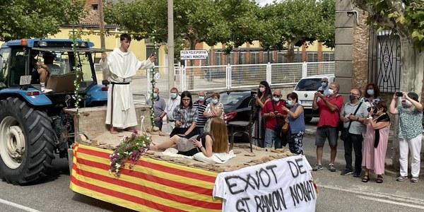 L'exvot d'aquesta edició va representar una partera en problemes resant a Sant Ramon