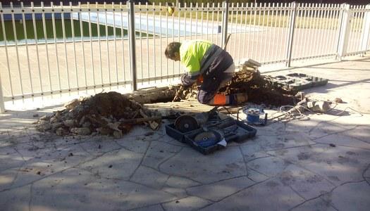 Sectorització i reparació d'una fuita a la piscina de Sant Ramon i canvi de comptadors als grans consumidors del municipi