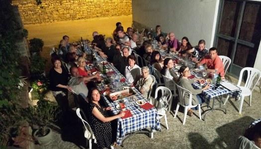 Sopar de fi de curs de la Coral Sant Ramon