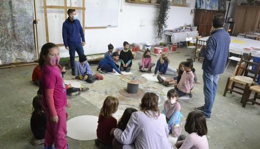Taller de creativitat pels alumnes de Sant Ramon