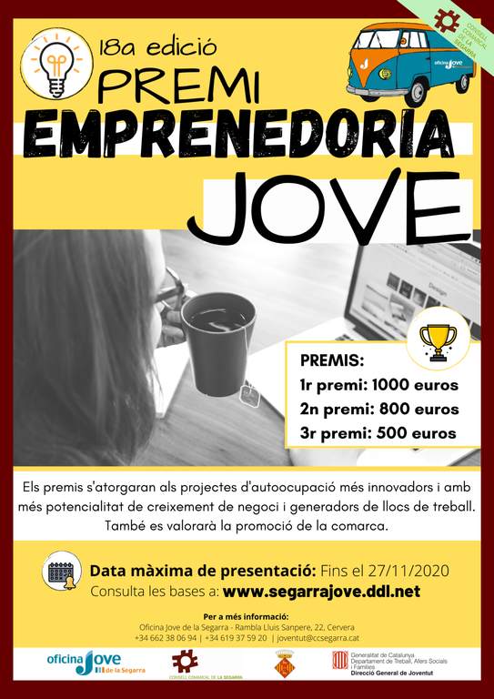 Cartell Premi emprenedoria jove 2020.png